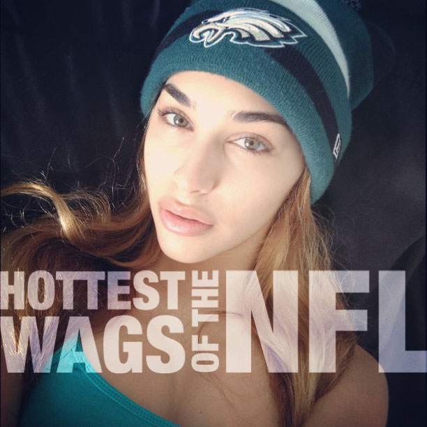 11 Hottest WAGs of the NFL