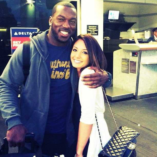 Shenae Saifi and Patrick Willis