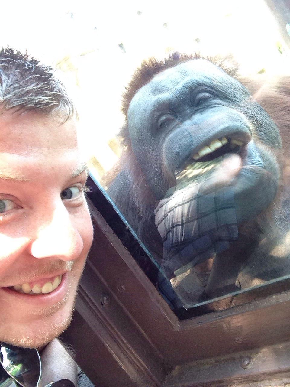 People Making Friends at the Zoo (14 Photos)