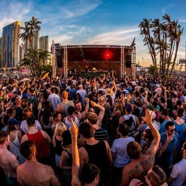 CRSSD Dance Music Festival Attracts Crowd of 15,000